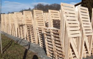 Izdelava lesenih palet in zabojev po naročilu